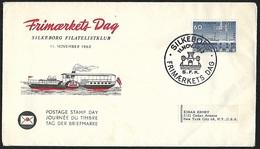 1962 - DANMARK - Cover + Michel 406x - Y&T 413 [Selandia] + SILKEBORG - Danimarca