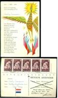 Nederland 1960 Bevrijdingskaart Met Ruime Frankering - Holanda