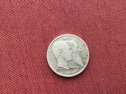 BELGIQUE MONNAIE DE 2 Francs 1830 1880 - 1831-1865: Leopold I