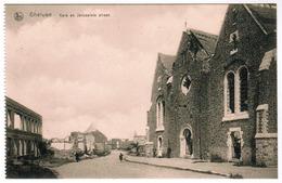 Geluwe, Gheluwe, Kerk En Jerusalemstraat (pk63625) - Wervik
