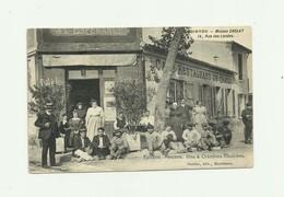 78 - CHATOU - Maison CHOLAT  Devanture Café  Epicerie Mercerie Vins 14 Rue Des Landes Belle Animation Bon état - Chatou
