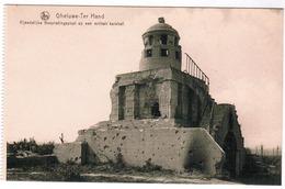 Geluwe, Gheluwe Ter Hand, Vijandelijke Bespiedingspost Op Een Militair Kerkhof (pk63626) - Wervik