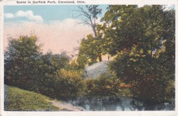 253730Cleveland, Scene In Garfield Park. – 1924 (see Corners) - Cleveland