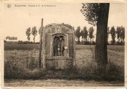 Esquelmes : Chapelle N.-D. De La Miséricorde ( L'abbé Léonard Deffernez,Curé) -- 2 Scans - Pecq