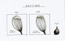 Postcard - Art - Wendy MacNaughton - Whip It Good - New - Postcards