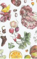 Postcard - Art - Wendy MacNaughton - Fruit And Vegtables Number 1. - New - Postcards