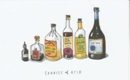 Postcard - Art - Wendy MacNaughton - Sources Of Acid - New - Postcards