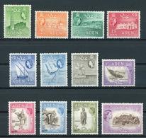 Aden MiNr. 49-60 Mit Falz/ Hinge Mark (E929 - Francobolli