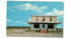 ST. DAVID, Levis, Quebec, Canada, Motel Barbeau, 1958 Chrome Postcard - Levis