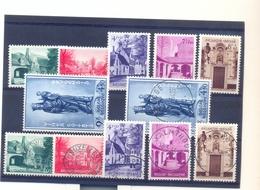 Nrs. 946/951 Prachtig Gestempeld + Postgaaf ** Zeer Mooi 262 Côte BRUGGE - Belgium