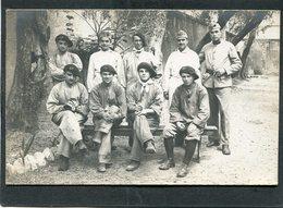 Carte Photo - Militaires - Chasseurs Alpins - Regiments