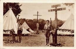 Scouts - Camp St Maurice - Cité Notre-Dame - Jouy-sur-Marne - Padvinderij
