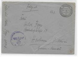 1944 - OCCUPATION ALLEMANDE En UKRAINE ! - ENVELOPPE FELDPOST De KREMIANEZ - Oekraïne