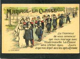 CPA - Illustration - MARIAGE DE LA CLASSE - Humoristiques