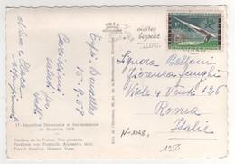 Beau Timbre , Stamp   Yvert N° 1048 Sur Cp , Carte Postale, Postcard Du ?? - Lettres & Documents
