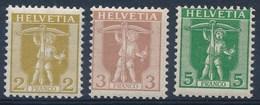 HELVETIA - Mi Nr 95/97 - MNH** - Cote 17,00 € - Switzerland