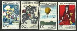 1973 Czechoslovakia MNH - Mi 2117-2120 ** MNH - Ungebraucht