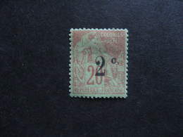 REUNION : TB N° 45b, Neuf X . - Réunion (1852-1975)