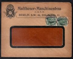 FRANC MACONNERIE - FREE MASON / 1912 ALLEMAGNE ENVELOPPE A ENTETE ILLUSTREE (ref 6623) - Franc-Maçonnerie