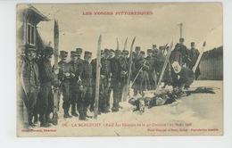 LES VOSGES PITTORESQUES - LA SCHLUCHT - Raid Des Skieurs De La 41ème Division - 20 Mars 1908 - Other Municipalities