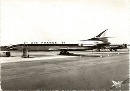 Bordeaux-Mérignac Caravelle SE 210 Air France F-BHRY Edit.Airlec Chambre De Commerce De Bordeaux - 1946-....: Ere Moderne