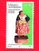 MESSICO -  Usato - 2012 - Arte Popolare - Bambola D'argento - Muneca De Plata Pella - Guanajuato - $ 7.00 - Messico