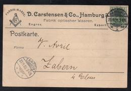 FRANC MACONNERIE - FREE MASON / 1905 ALLEMAGNE CARTE COMMERCIALE  ILLUSTREE (ref 6646) - Franc-Maçonnerie