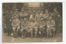 Militaire Guerre 1914.18 Blessée A Ernée Mayenne Le 2.02.1916 - Guerra 1914-18