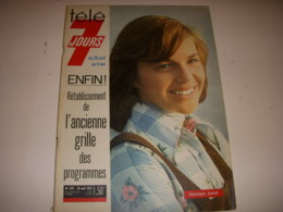 TELE 7 JOURS 679 04.1973 Véronique JANNOT Robert ETCHEVERRY MERIMEE DUTRONC - Televisione