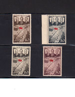 URSS. 1938. Yvert 628 / 631 ** Neufs Sans Charnière. TB. 1er Raid Aerien Transpolaire. (2016t) - Unused Stamps