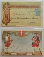 Cartolina Postale Italiana 9°Reggimento Fanteria, Per Lugo (RA) - Anno 1905 - 1900-44 Vittorio Emanuele III
