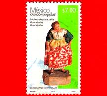 MESSICO -  Usato - 2010 - Arte Popolare - Bambola D'argento - Muneca De Plata Pella - Guanajuato - $ 7.00 - Messico