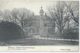 Wilrijk - Wilryck - Château Groenenborger - R.V.D.H. Berchem-Anvers - Cliché E. Schreij - 1907 - Antwerpen