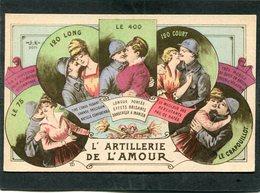 CPA - Illustration - L'ARTILLERIE DE L'AMOUR - Guerre 1914-18