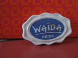 Fève Clamecy Waida  Logo Série Vitraux De La Cathédrale De Reims - Année 2012 - Fève - Rare - Ancienne - Oude