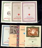 France Carnets Croix-Rouge 1956/1962 Complet Neufs ** MNH. TB. A Saisir! - Markenheftchen