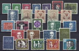 Bundesrepublik Jahrgang 1959 Gest. - Used Stamps