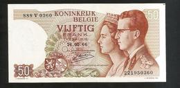 BELGIQUE / BELGIO - 50 FRANK / FRANCS (1966) - [ 2] 1831-... : Belgian Kingdom