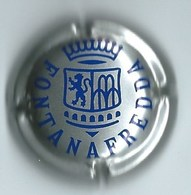 FONTANAFREDDA  Fond Argent, Inscription Bleu Foncé - Schaumwein - Sekt