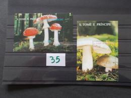 S' TOME E PRINCIPE   -  CHAMPIGNONS   N° 163 W + X   Année 1995 Neuf XX Voir Photo ( 35) - Mushrooms