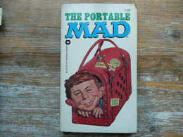 THE PORTABLE MAD #28 EDITED BY ALBERT B. FELDSTEIN 1977 WARNER BOOKS - Libros, Revistas, Cómics