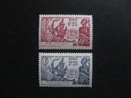 REUNION: TB Paire N° 156 Et N° 157 , Neufs XX . - Réunion (1852-1975)