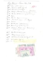 Belgique Bel Ensemble De Variétés Entre N° 442 Et 465A. Variétés Répertoriées. Forte Cote. B/TB. A Saisir! - Abarten (Katalog COB)
