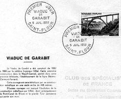 Saint Flour 1952 Viaduc De Garabit - France
