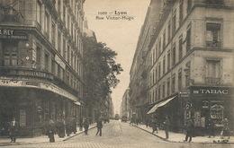Tabac Pub Cigarettes Muratti Et Eden Bar Rue Victor Hugo Lyon Ecrite 1924 - Winkels