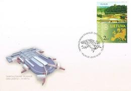 34968. Carta F.D.C. VILNIUS (Lituania) LIETUVA 2006. Aeropuerto Internacional - Lituania