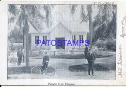 126171 ARGENTINA BUENOS AIRES PARQUE 3 DE FEBRERO YEAR 1903 POSTAL POSTCARD - Argentina