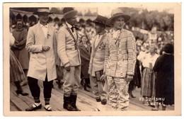 Latvia. Lettland. VII Dziesmu Svetki. Latvian People Dressed In Folkl Costumes. Real Photo.1931 - Letonia
