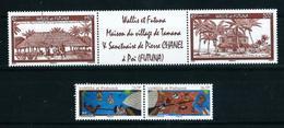 Wallis Y Futuna Nº 681/2-683/4 (unidos) Nuevo - Wallis Y Futuna