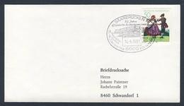 Deutschland Germany 1981 Brief Cover - 75 Jahre Eisenbahn-Ausbesserungswerk - Tag Der Offenen Tür 13.-14. Juni 1981 - Treinen